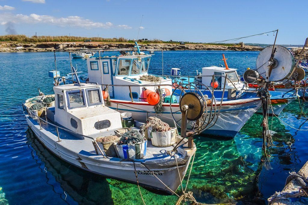 Vapoare pescaresti in Cipru