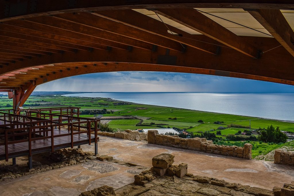 Vedere spre mare, in Cipru