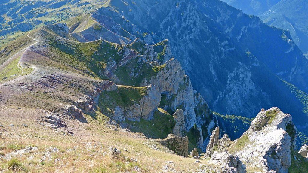 Creta, peisaj montan