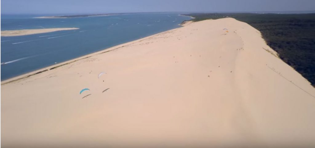 Imagine din varf Dune du Pilat