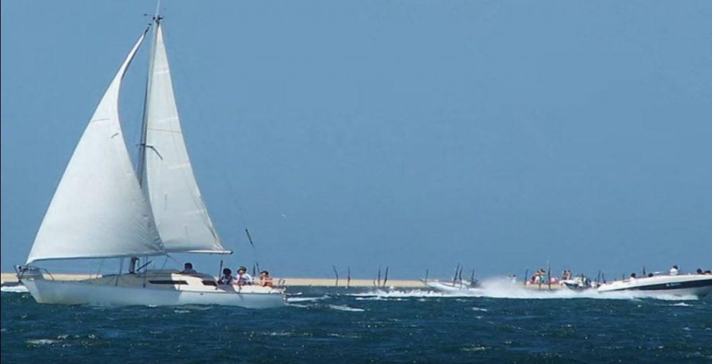 Dune du Pilat - sporturi nautice
