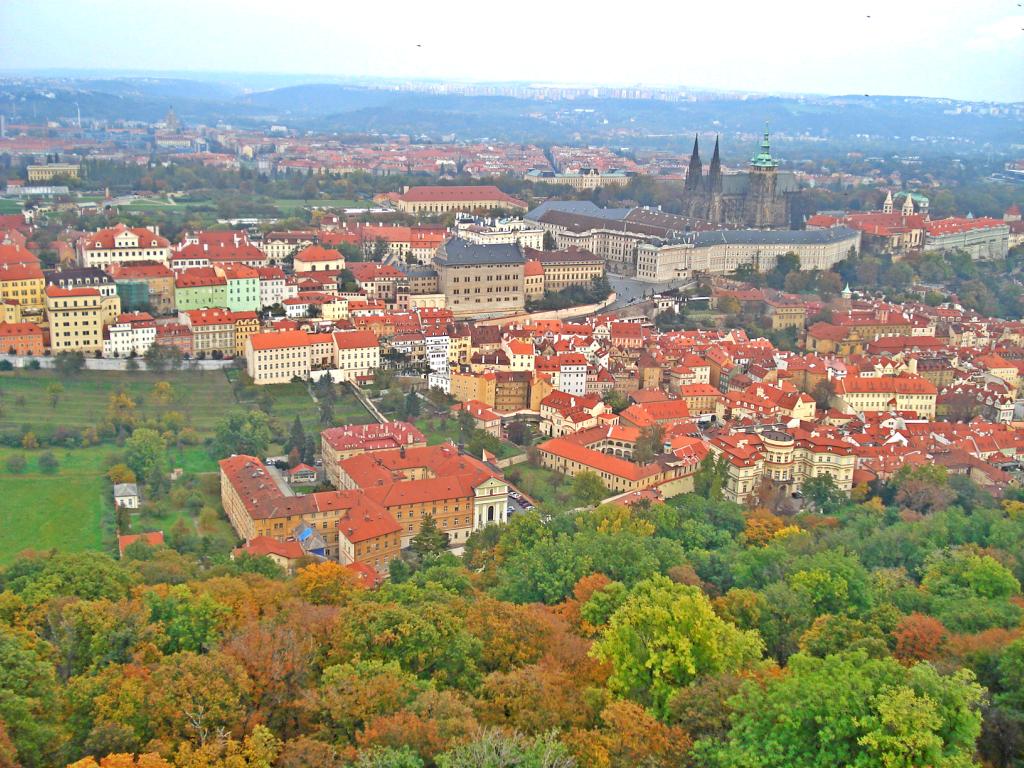 Atractii turistice Praga - panorama orasului