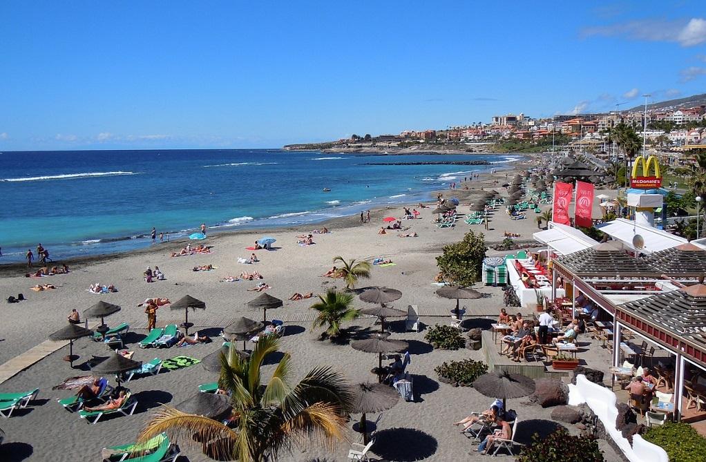 Plaja in Tenerife