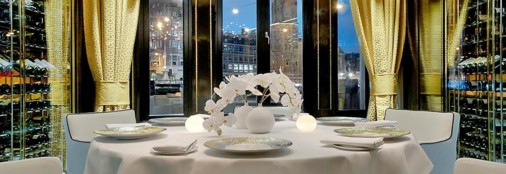 Restaurant Bord'Eau - Amsterdam, restaurant 3 stele Michelin