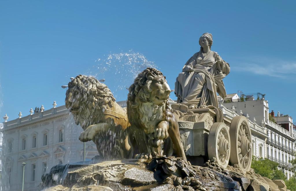 Obiective turistice Madrid - Fuente Cibeles