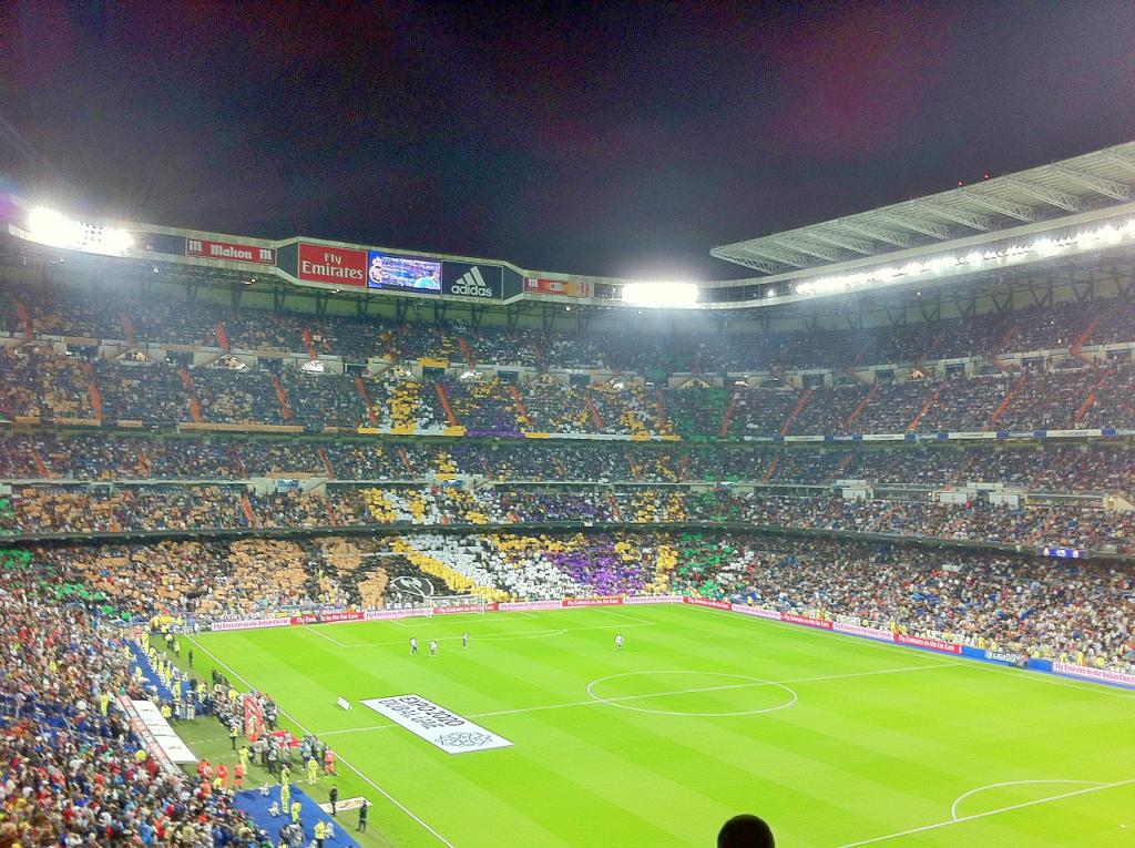Obiective turistice Madrid - Santiago Bernabeu