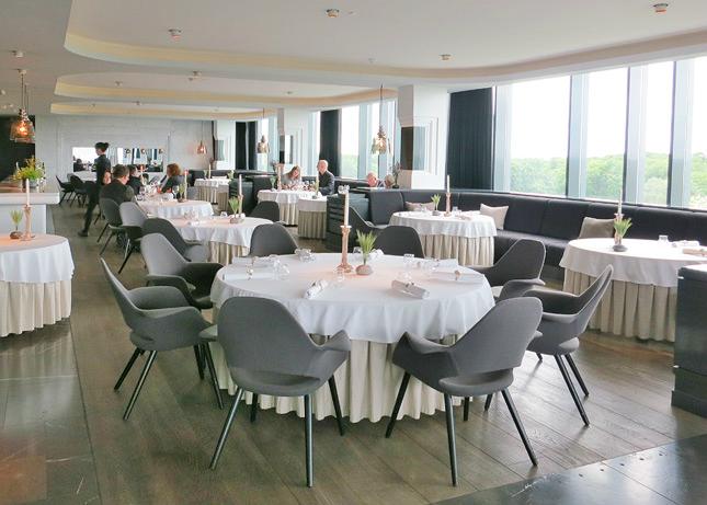 Restaurant Geranium - Copenhaga, restaurant 3 stele Michelin, Danemarca