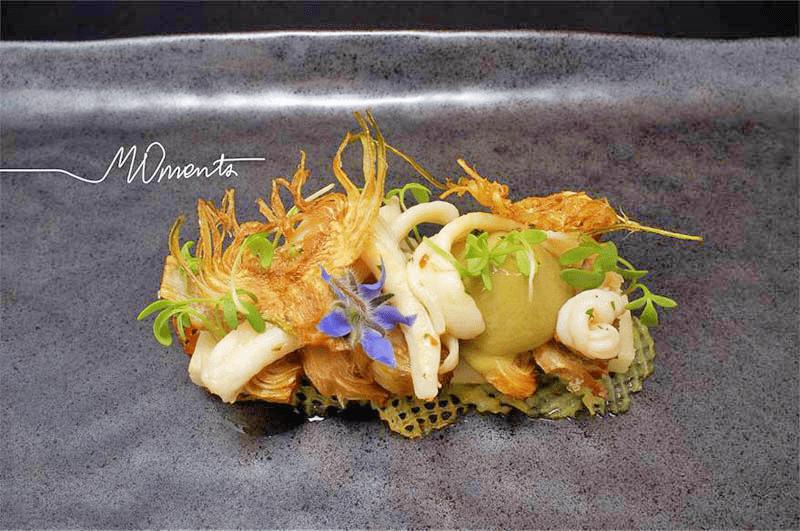 Restaurant Moments Barcelona - preparat de lux, 3 stele Michelin