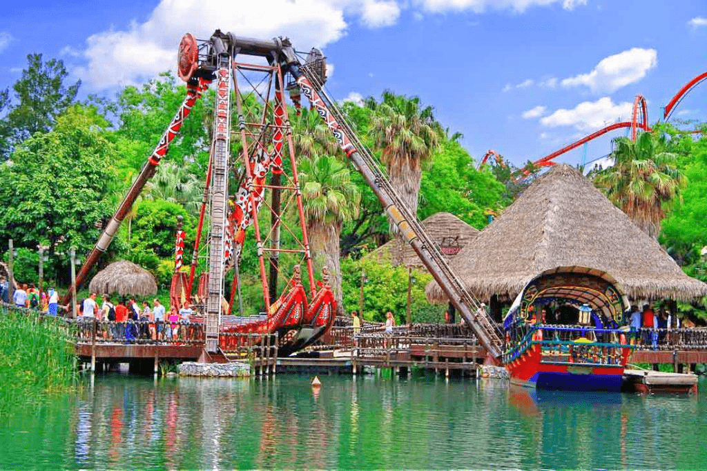 Parcul de distractii Port Aventura - Salou, Spania