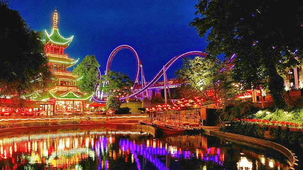 Tivoli Gardens - Copenhaga