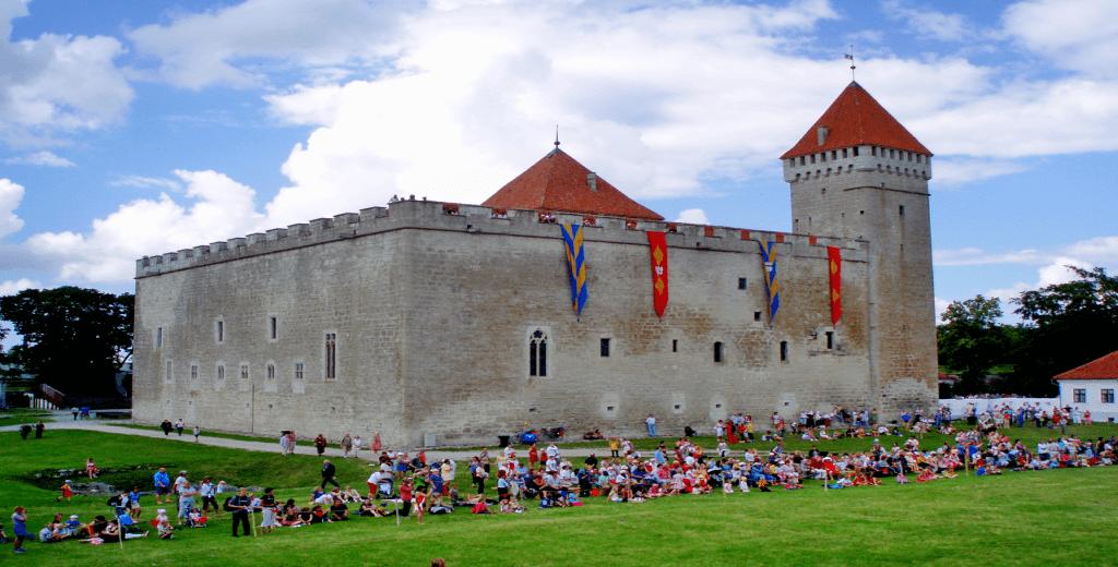 Obiective turistice Estonia - Castelul Kuressaare