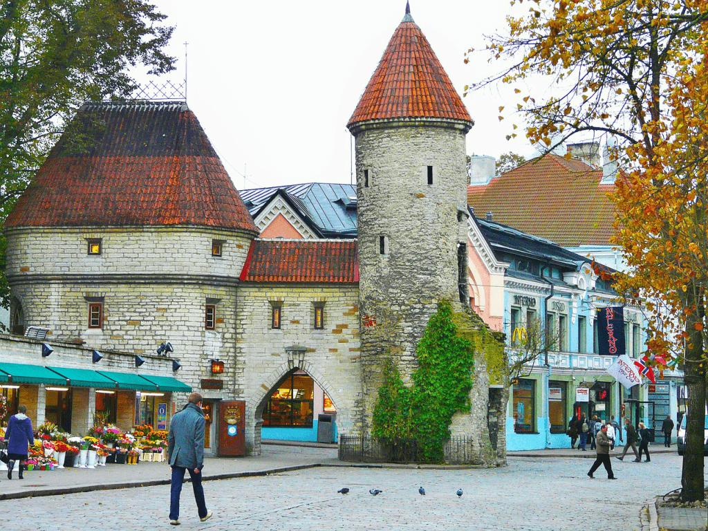 Obiective turistice Estonia - Centrul Vechi Tallin