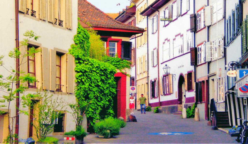 Obiective turistice Basel - Centrul Vechi