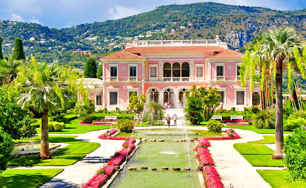 Obiective turistice Coasta de Azur - Villa Rothschild