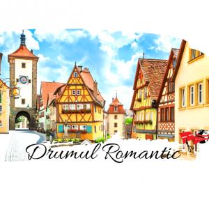 Romantische Strasse – Drumul Romantic de 372 km din Germania
