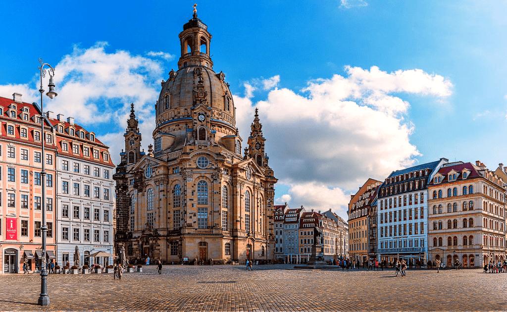 Obiective turistice Dresda - Biserica Frauenkirche