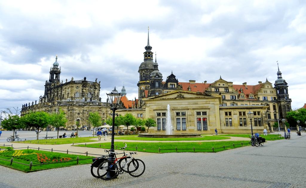 Obiective turistice Dresda - Palatul Regal