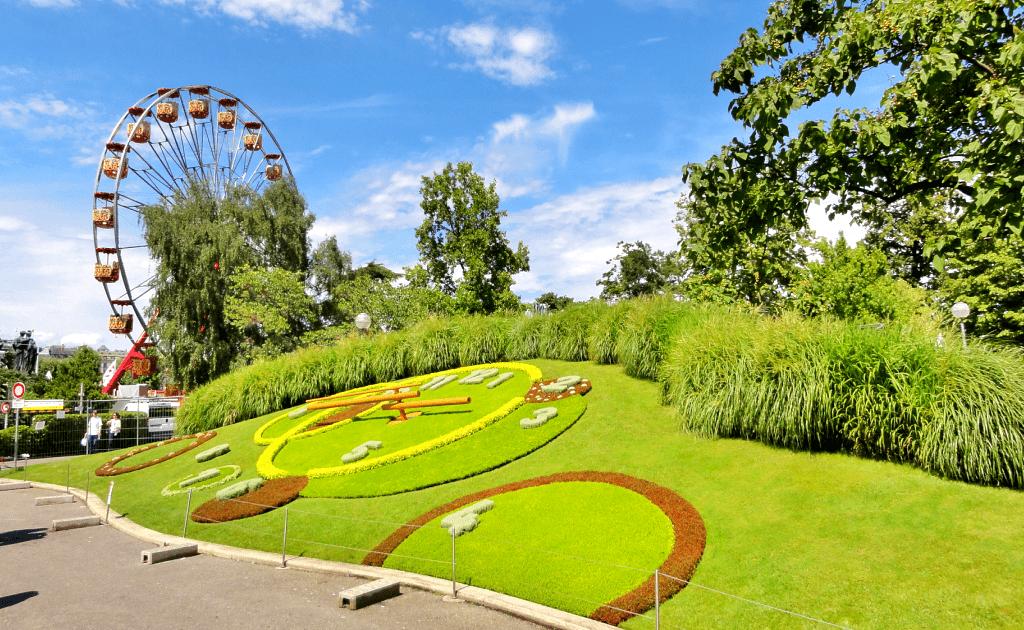 Obiective turistice Geneva - Jardin Anglais