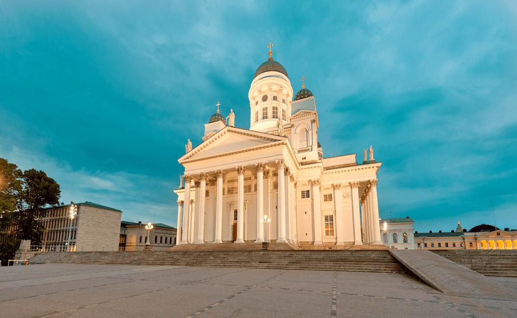 Obiective turistice Helsinki - Catedrala Luterana