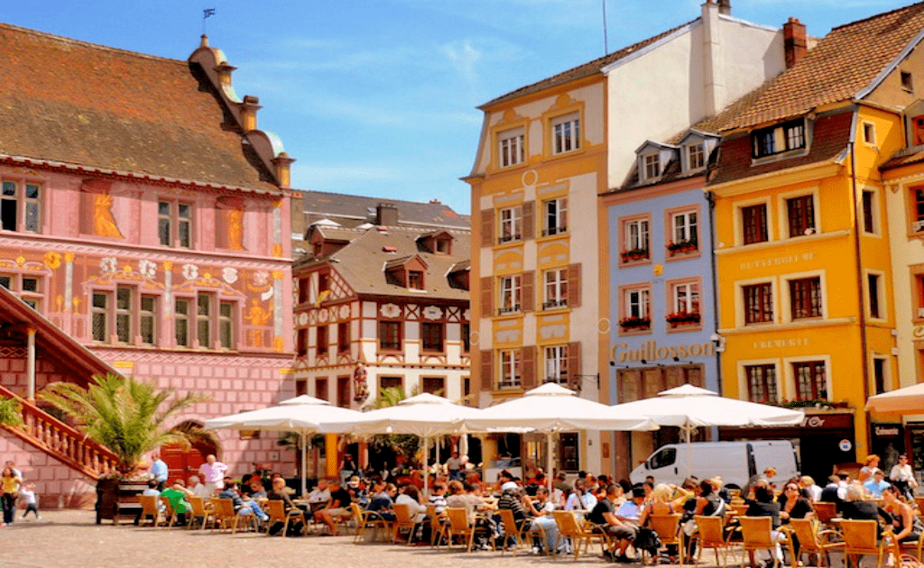 Obiective turistice Mulhouse - Centrul Vechi