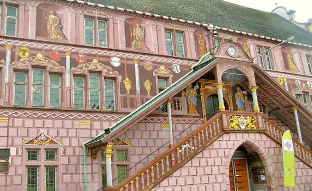 Obiective turistice Mulhouse - Hotel de Ville
