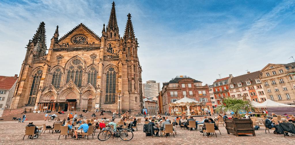 Obiective turistice Mulhouse - Temple Etienne