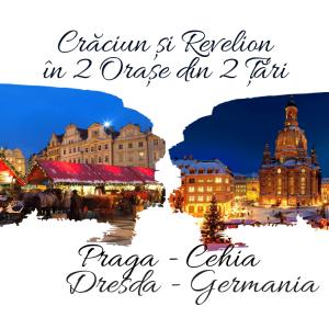 Craciun si Revelion in 2 Țări: PRAGA (Cehia) & DRESDA (Germania), 2020 – 2021