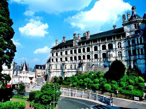 castele de pe Valea Loarei-Blois