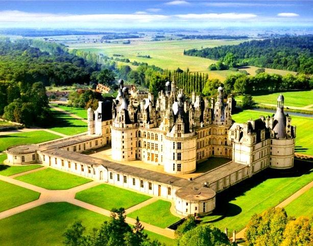 castele de pe Valea Loarei-Chambord