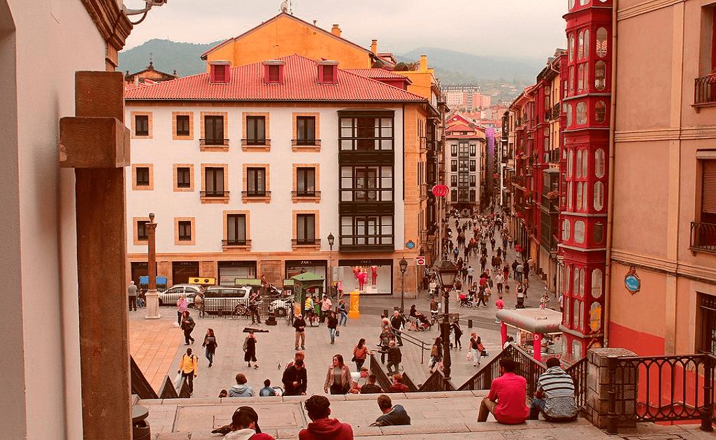 Obiective turistice Bilbao - Casco Viejo