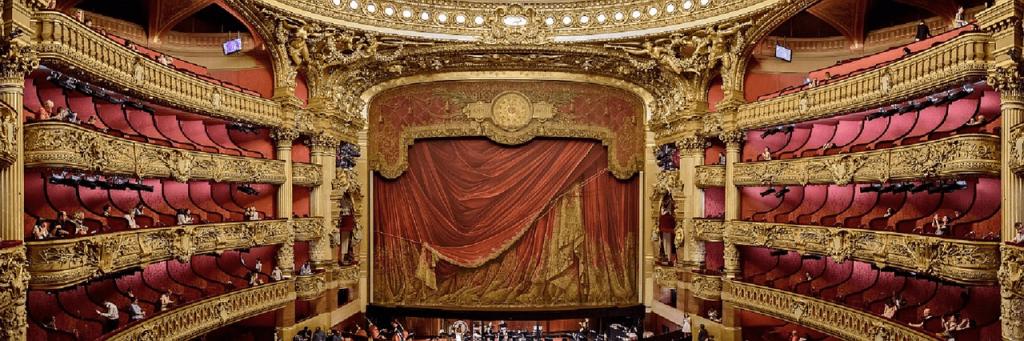 Opera Garnier - Paris, vedere in interior