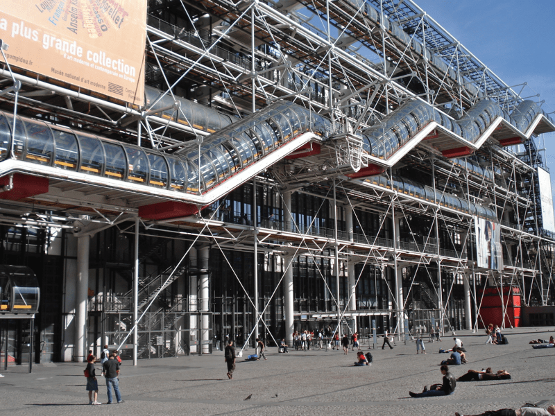 Centrul Pompidou, Paris