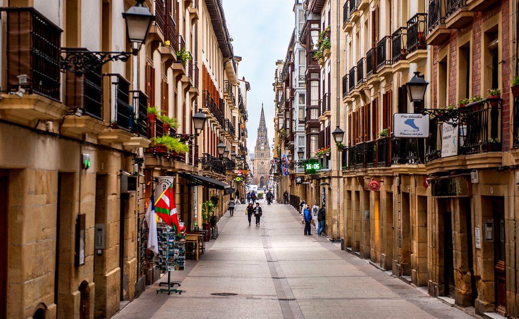 Obiective turistice San Sebastian - Centrul Vechi