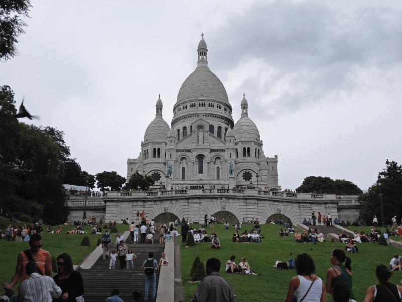 Sacre Coeur din Montmartre