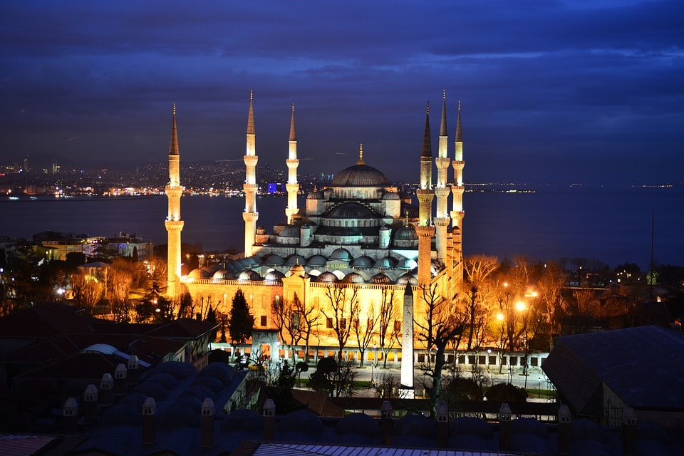 Moscheea Albastra- Obiective Istanbul