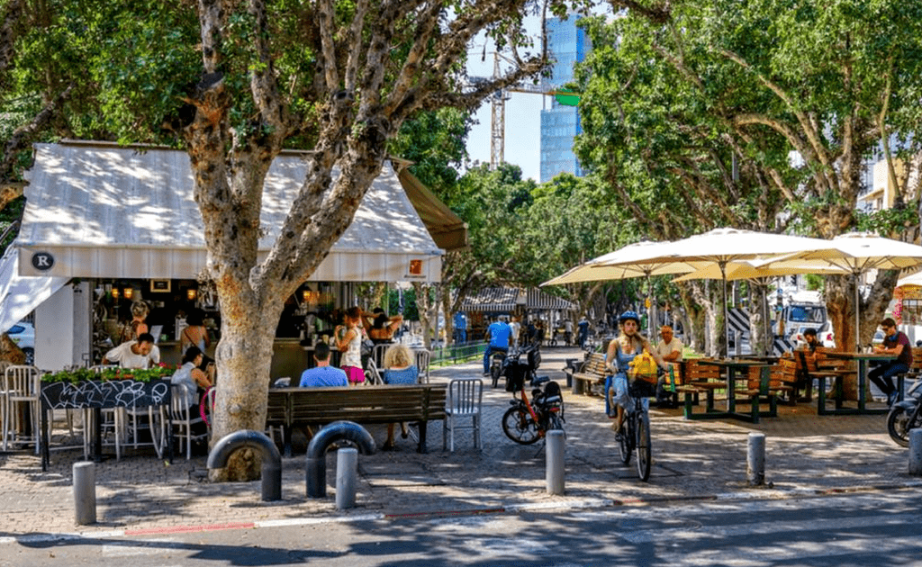 Tel Aviv - obiective turistice, Bulevardul Rothschild