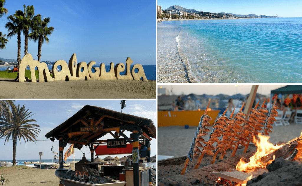 Obiective turistice Malaga - Plaja Malagueta
