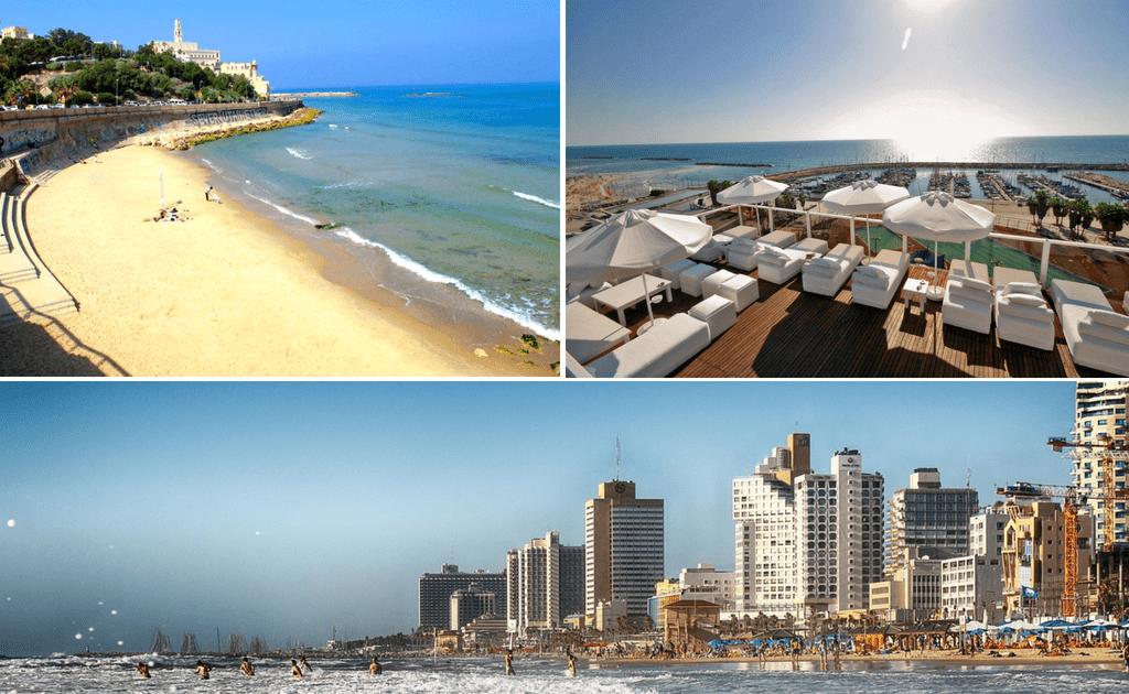 Tel Aviv - obiective turistice, plajele