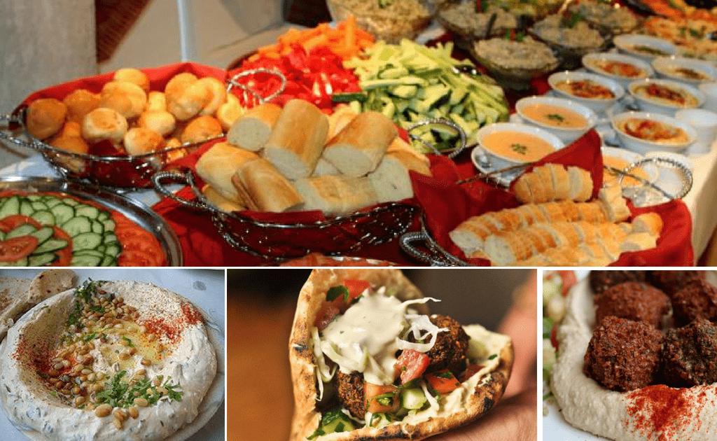 Tel Aviv obiective turistice,bucataria locala