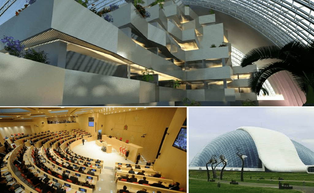 Obiective turistice Kutaisi - Palatul Parlamentului
