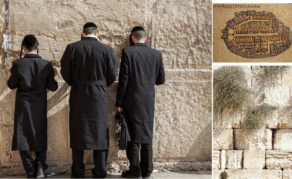 Obiective turistice Ierusalim - Zidul Plangerii
