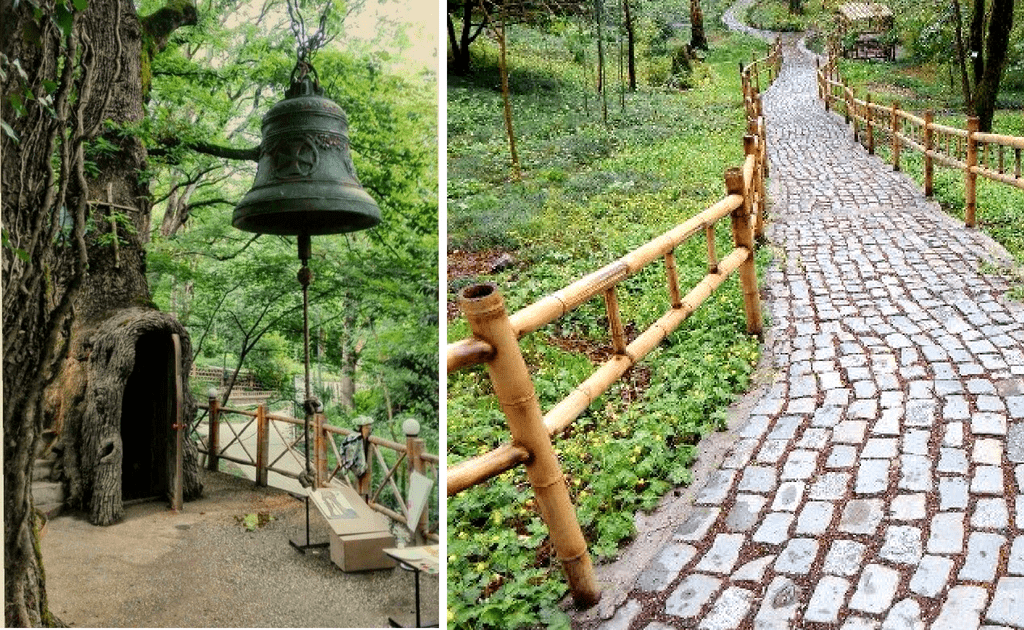 Obiective turistice Kutaisi -Gradina Botanica