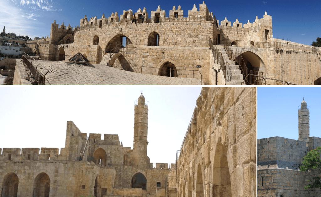 Obiective turistice Ierusalim - Turnul lui David