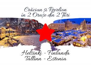 Craciun si Revelion in 2 Țări: HELSINKI (Finlanda) & TALLIN (Estonia), 2020- 2021