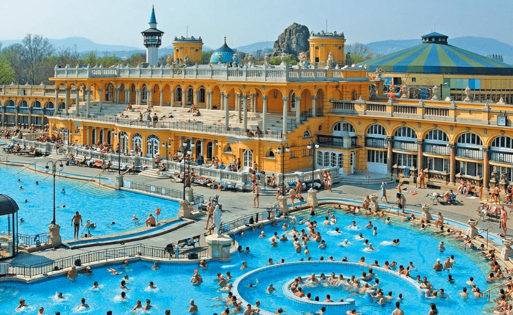 Statiuni balneare Europa - BaileSzéchenyi, Budapesta
