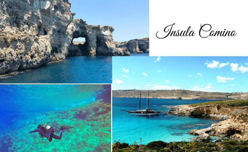 Obiective turistice Malta - Insula Comino