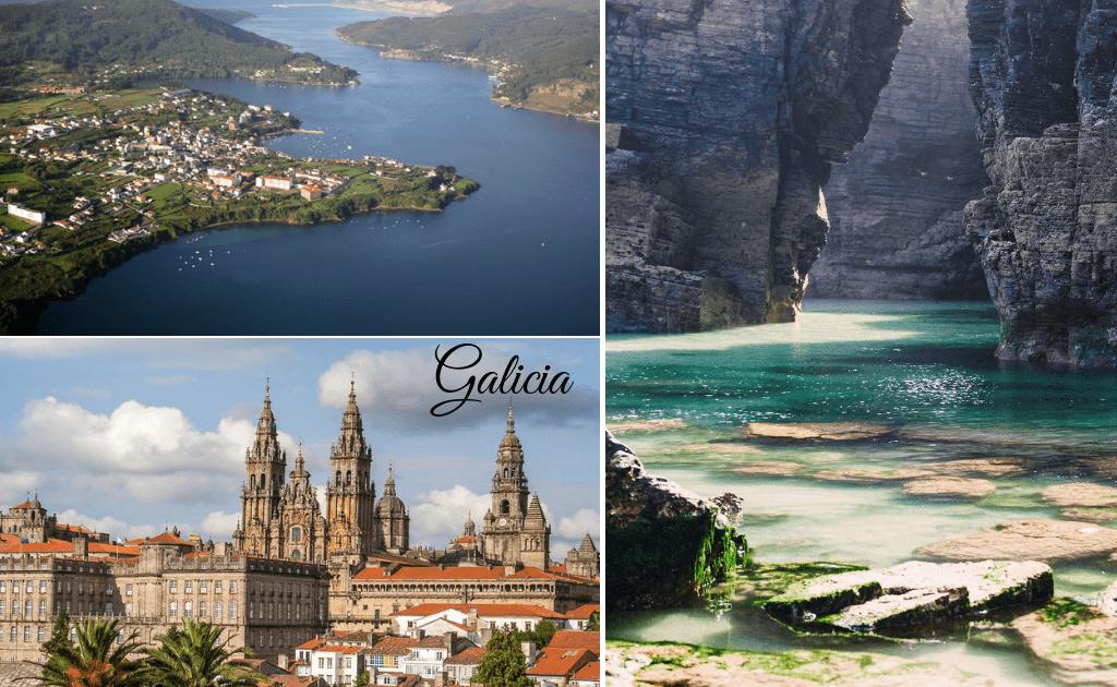 Galicia - atractii turistice Nordul Spaniei