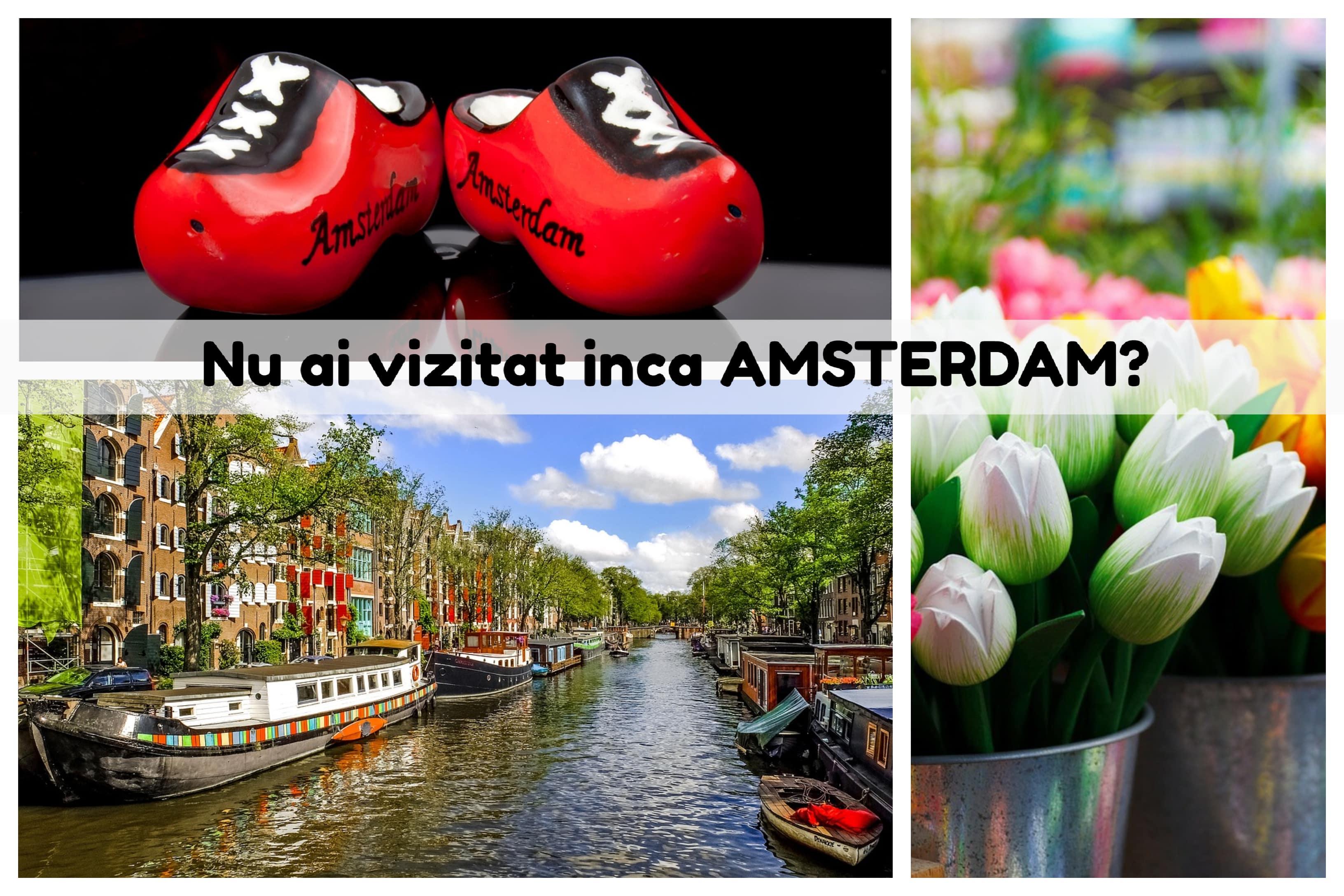 Oferta KLM Amsterdam - imagini din Amsterdam intr-un city break cu KLM