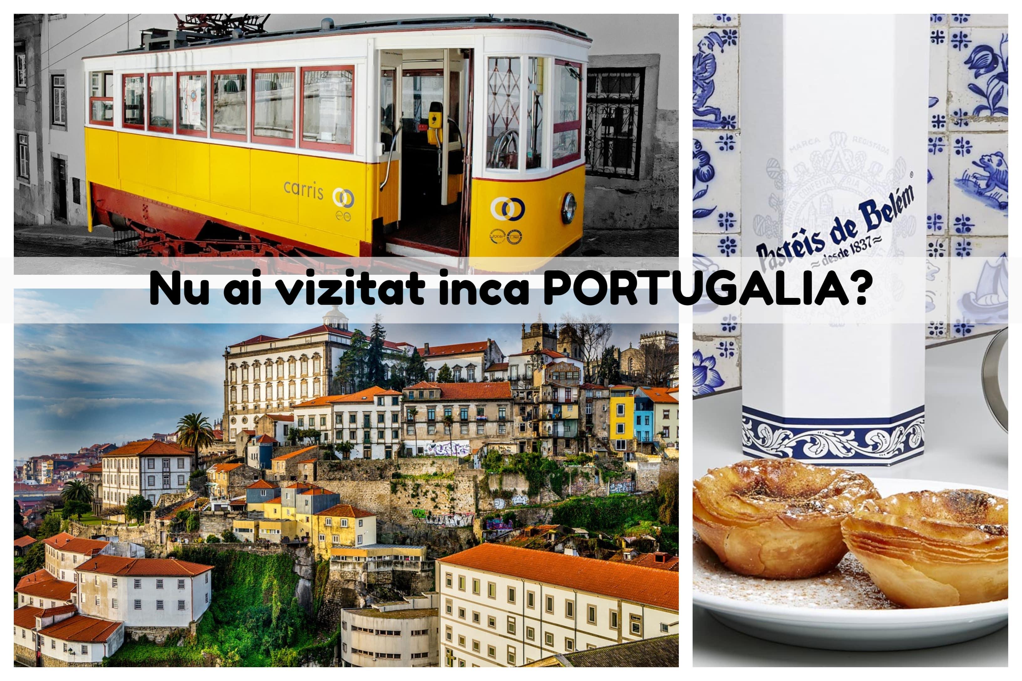 Imagini din Lisabona si Porto, destinatii din Portugalia acoperite de KLM