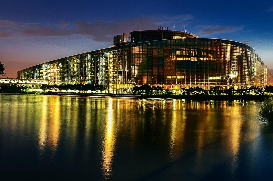 Parlamentul European - obiective turistice Strasbourg
